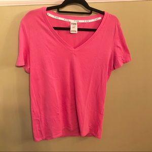 Victoria's Secret PINK V neck T shirt